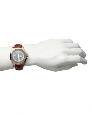 ピンクゴールド 機械式腕時計 038|MENを見る