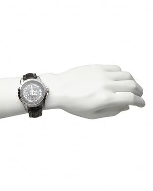 シルバー 機械式腕時計 038|MENを見る