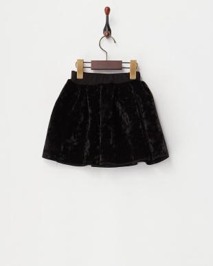 クロ ダイバー素材フレアスカートを見る