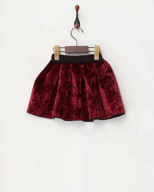 ボルドー ダイバー素材フレアスカートを見る