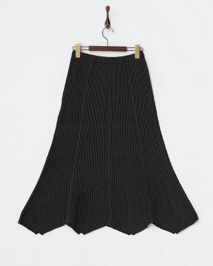 ブラック CP2シャトル 変形ヘムラインスカートを見る