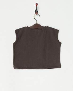 ブラック系 ショート丈 S/S Tシャツを見る