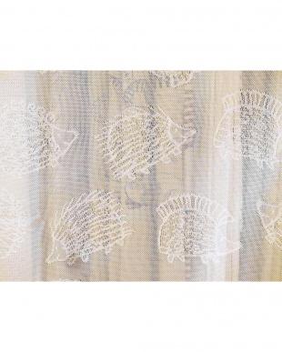 ハリネズミ レースカーテン 100×176cm 2枚組を見る