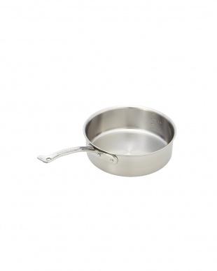 オール熱源対応 ニューキングデンジ 浅型片手鍋(18cm)を見る