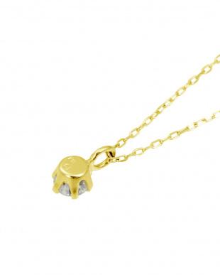 K18YG 天然ダイヤモンド0.1ct SIクラス ネックレスを見る