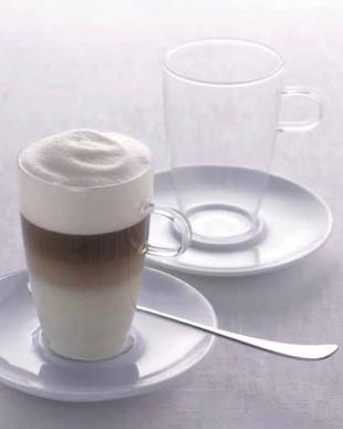 COFFEE (ラッテ・マッキアート)カップ&ソーサー 2個セットを見る