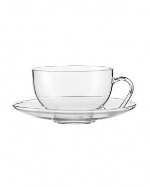 TEA(RELAX)ティーカップ&クリアソーサー 2個セットを見る