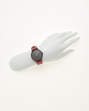 レッド/ブラック 腕時計 Verdiwatch  Perfoを見る