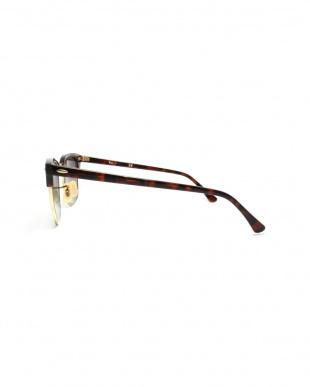 トータス×ゴールド CLUBMASTER ミラーサングラスを見る
