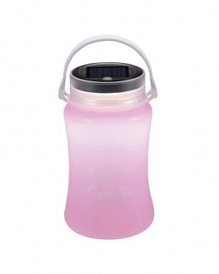 ピンク フローティングLEDランタン typeII「ソーラー&USB充電式」を見る