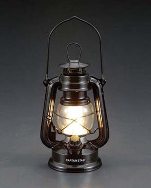 ハンマートンブラック アンティーク暖色LEDランタンを見る
