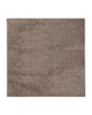 ブラウン デタント ツイストシャギーの国産ラグ 185×240cmを見る