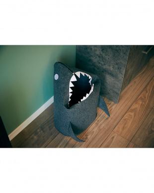 ダークグレー 折りたたみフェルトストレージ sharkを見る
