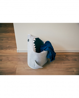 ライトグレー 折りたたみフェルトストレージ sharkを見る