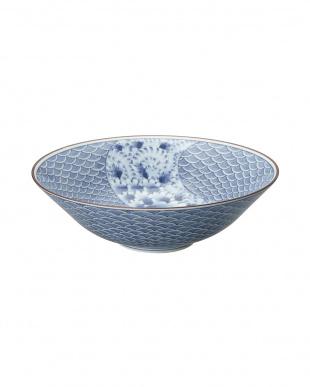 青海波流水 盛鉢を見る