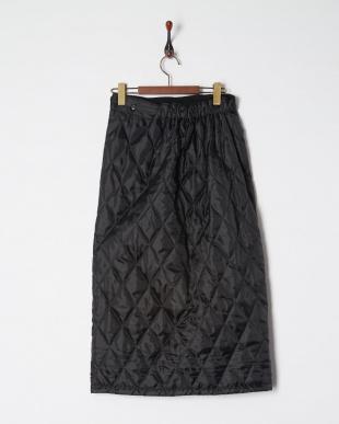 ブラック 裏ボア巻きスカートを見る