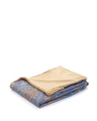 ブルー あったか掛け布団カバー シングルロングサイズを見る