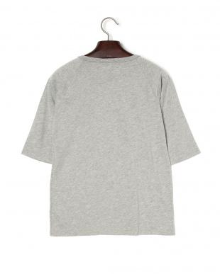 ヘザー BEACH BREAKクルーネック 七分袖Tシャツを見る