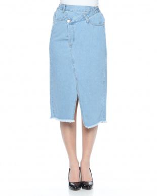 ブリーチ リメイク風デニムスカートを見る