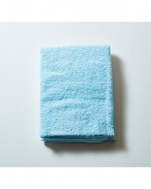ブルー 世界三大綿「スーピマコットン」バスタオル×泉州 2枚セットを見る