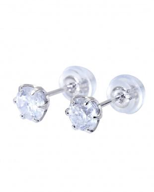 Pt900 天然ダイヤモンド 計0.7ct  6本爪 プラチナ スタッドピアスを見る