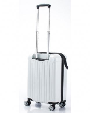 ホワイトカーボン トップオープンスーツケース Sを見る