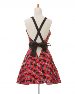 RED HEARTS STRIPES Janis Dress Apronを見る