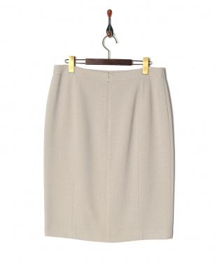 ベージュ トリアセブッチャースカートを見る