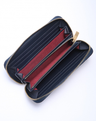 NVY ラウンドファスナー財布を見る