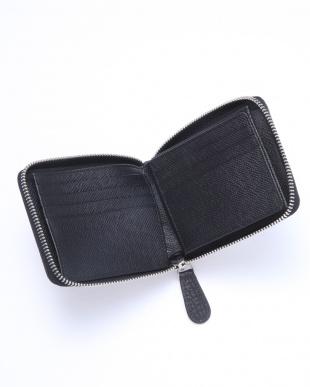 BLK ラウンドファスナー二つ折り財布を見る