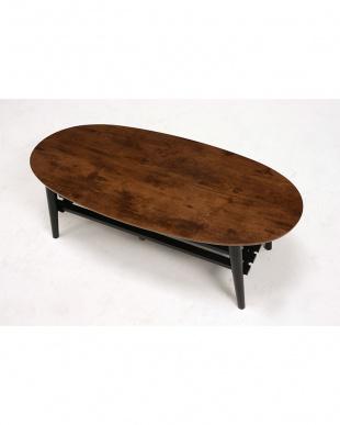 折れ脚オーバルテーブルを見る