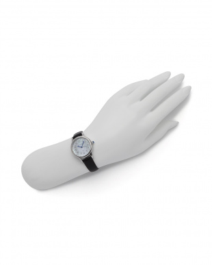 シルバー/ブラック 腕時計を見る