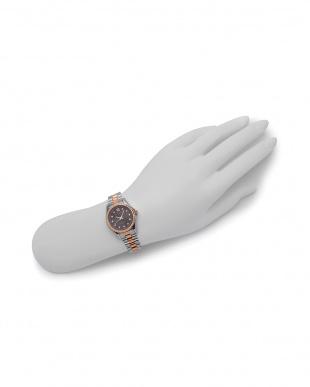 ピンクゴールド/ブラウン 腕時計を見る