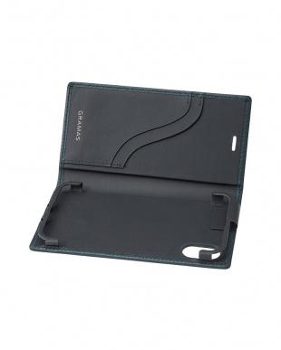 ネイビー Full Leather Case for iPhone X/XSを見る