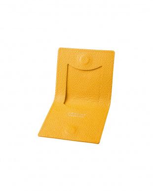 イエロー Money Clip Coin Case(コインケース) Yellow×Yellowを見る