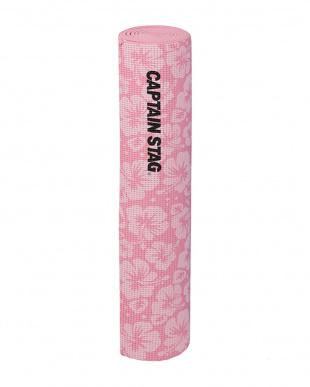 ピンク ヨガマット ハイビスカス 61cm×173cm×厚さ0.6cmを見る