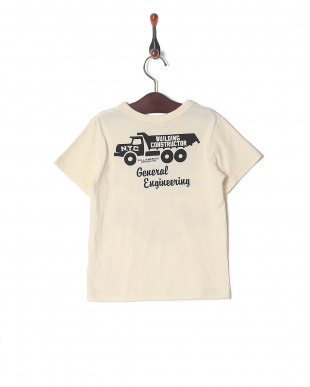 オフホワイト 働く車プリントTシャツを見る