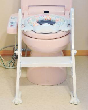 ホワイト ステップ式 トイレトレーナーを見る