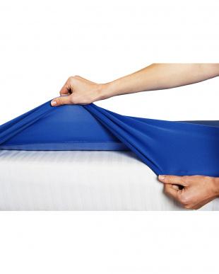 マリンブルー 防水透湿 おねしょシーツ ベビーベッドサイズ (120×70cm)を見る