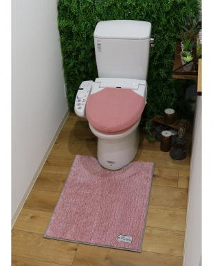 ピンク TOWARDトイレマット Lを見る