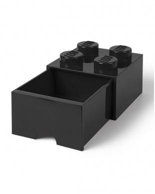 ブラック レゴブリックドロワー4 レゴ収納ボックス 引き出しタイプを見る