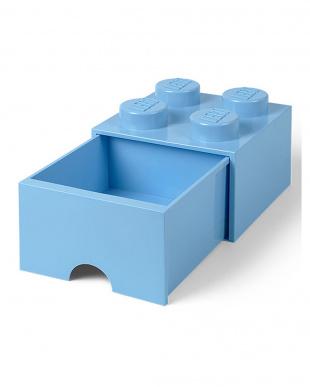 ロイヤルブルー レゴブリックドロワー4 レゴ収納ボックス 引き出しタイプを見る