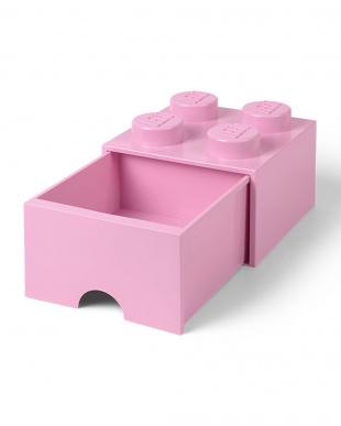 ライトパープル レゴブリックドロワー4 レゴ収納ボックス 引き出しタイプを見る