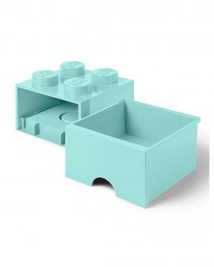 アクアライトブルー レゴブリックドロワー4 レゴ収納ボックス 引き出しタイプを見る