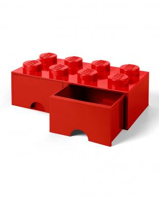 ブライトレッド レゴブリックドロワー8 レゴ収納ボックス 引き出しタイプを見る
