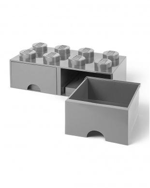 ストーングレー レゴブリックドロワー8 レゴ収納ボックス 引き出しタイプを見る