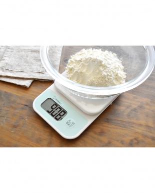 ホワイト デジタルスケール「シャンティ」3kgを見る