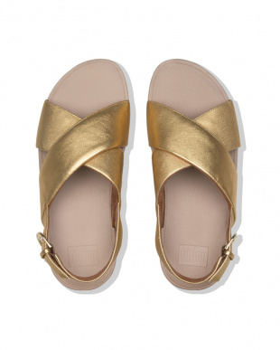 Artisan Gold LULU CROSS BACK-STRAP SANDALS - LEATHERを見る