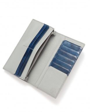 Blue 小銭入れ付長財布を見る