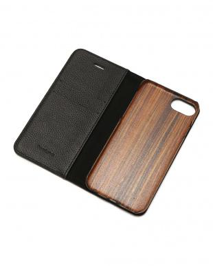 ブラック REMY(レミー)ブラック iPhone8/7/6s/6 兼用フランスレザー 木製ケースを見る